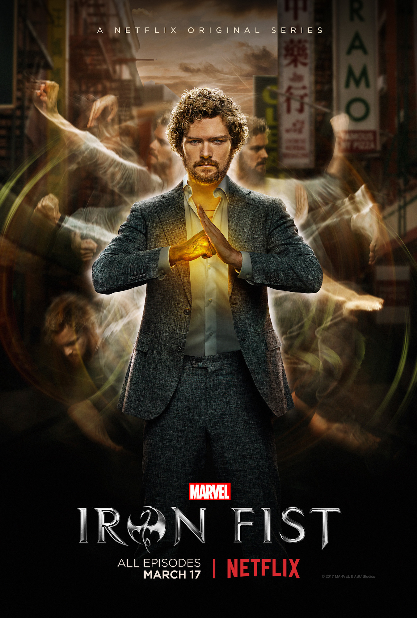 iron fist poster Every Marvel Movie and TV Show Ranked From Worst to Best