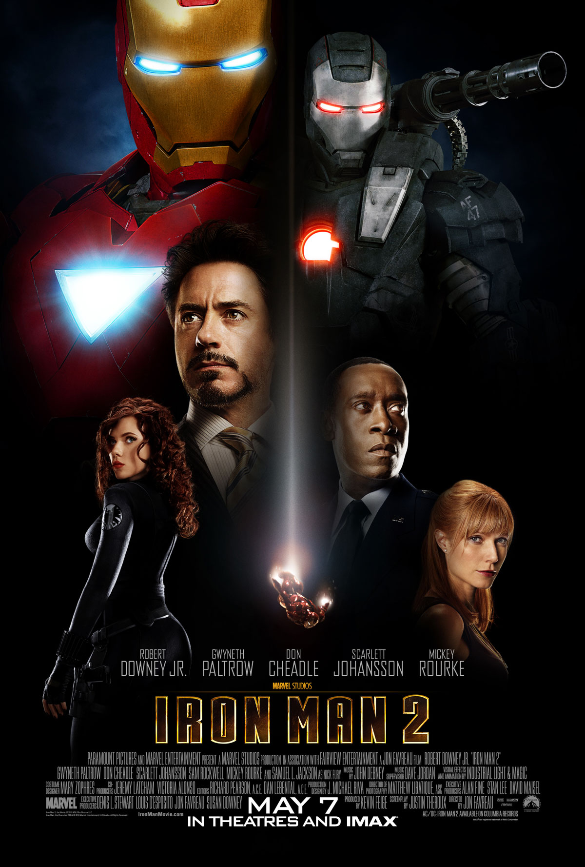 iron man 2 poster Every Marvel Movie and TV Show Ranked From Worst to Best